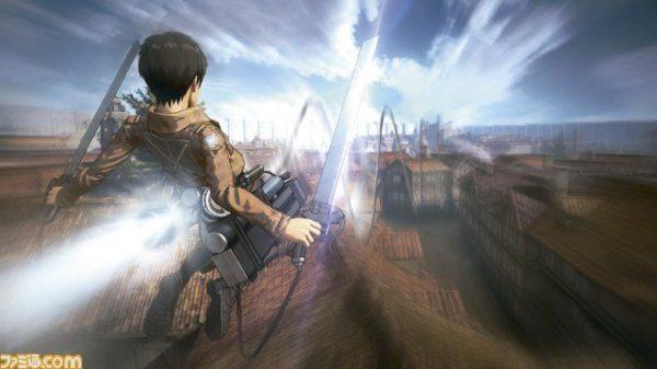 Nuevas imágenes del nuevo juego de Ataque a los Titanes