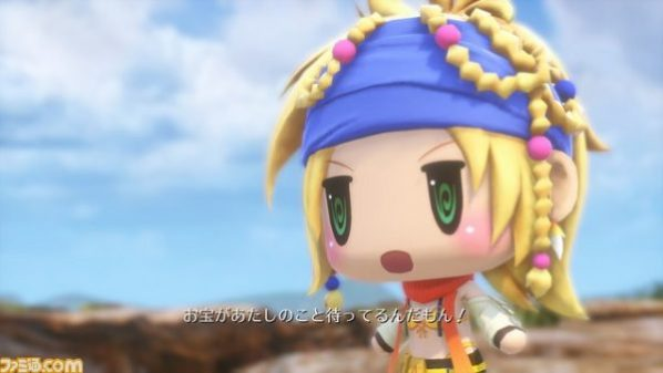 Primeras imágenes de Rikku en 'World of Final Fantasy'