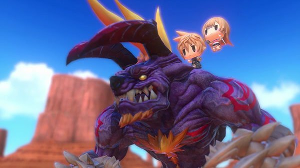 'World of Final Fantasy' llegará a Steam en noviembre