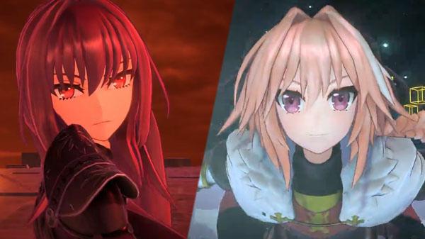 Astolfo y Scathach son los protagonistas de los nuevos vídeos de 'Fate/Extella Link'