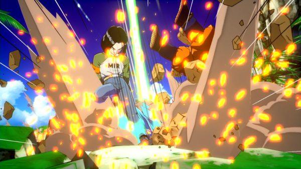 Androide 17 estará disponible el 28 de septiembre en 'Dragon Ball FighterZ'