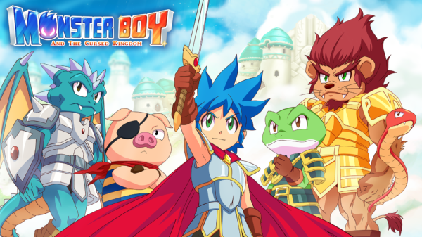'Monster Boy and the Cursed Kingdom' llegará a PS5 y Xbox Series S/X