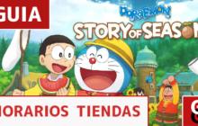 Horarios de las tiendas de 'Doraemon Story of Seasons'