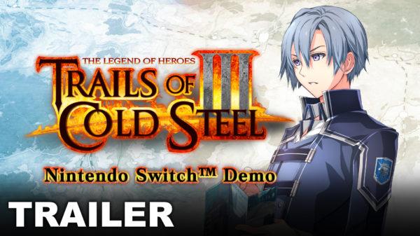 La demo de 'Trails of Cold Steel III' para Nintendo Switch ya está disponible