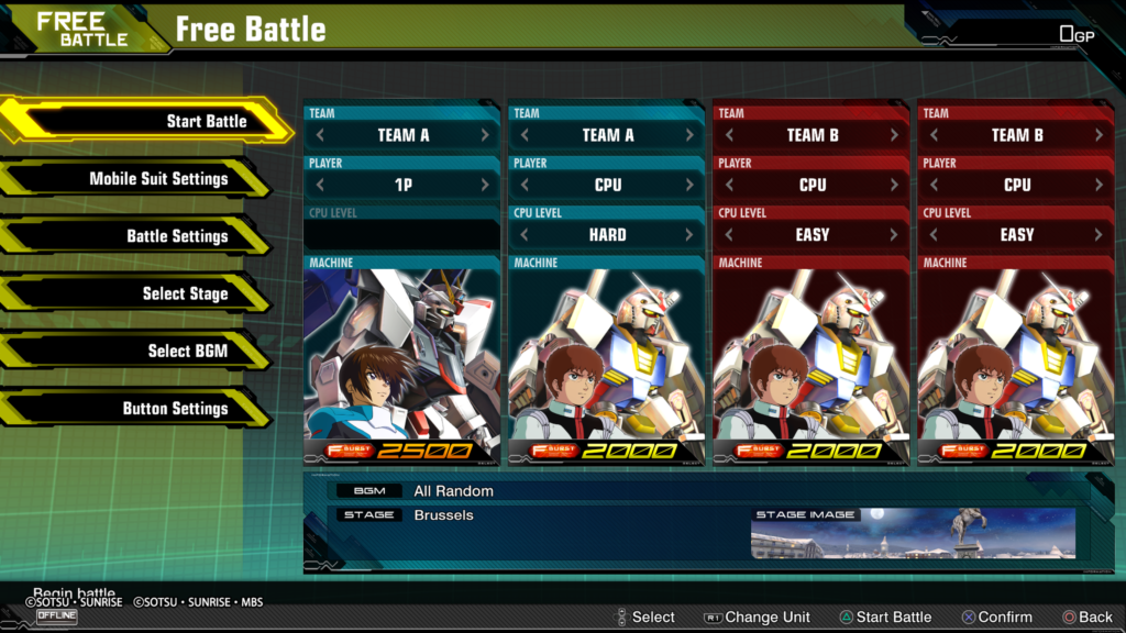 MOBILE SUIT GUNDAM EXTREME VS  MAXIBOOST ON Network Test 20200426222305