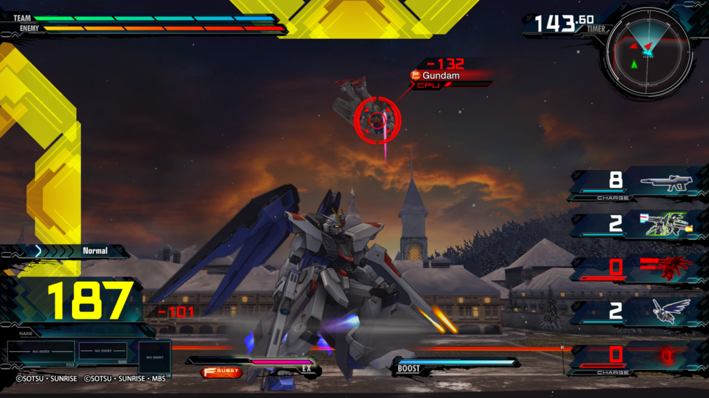 MOBILE SUIT GUNDAM EXTREME VS  MAXIBOOST ON Network Test 20200426222456