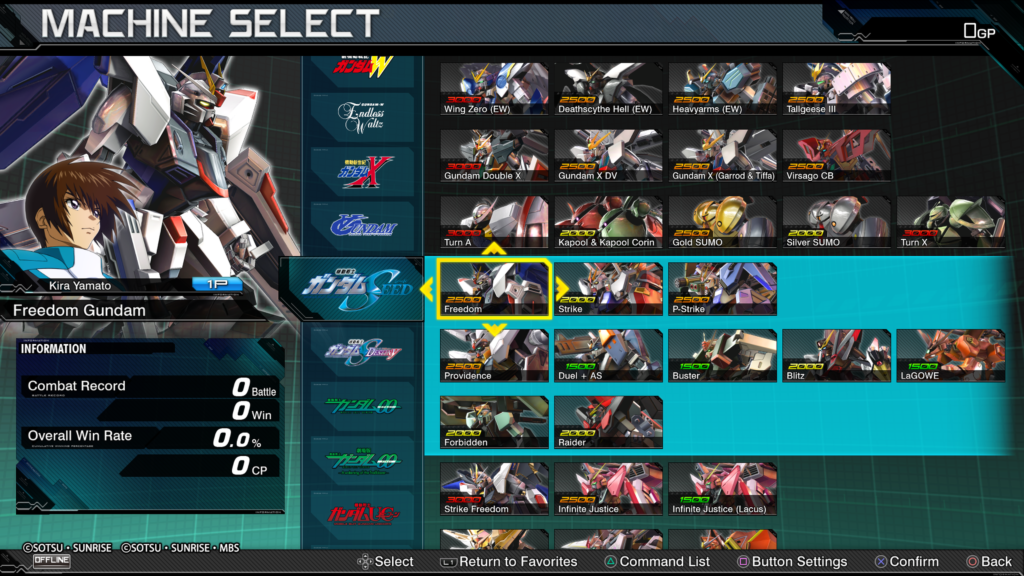MOBILE SUIT GUNDAM EXTREME VS  MAXIBOOST ON Network Test 20200426222706