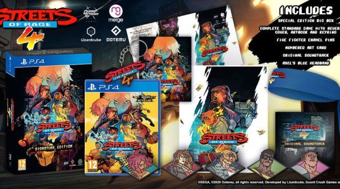 Ya se puede reservar la edición física de 'Streets of Rage 4'