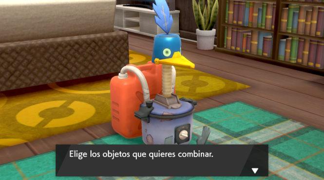 Las combinaciones del Cramobot de 'Pokémon Espada/Escudo'