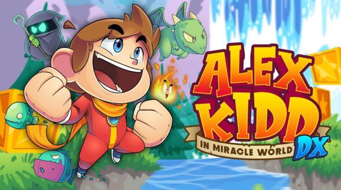 Anunciado 'Alex Kidd in Miracle World DX' para PC y consolas