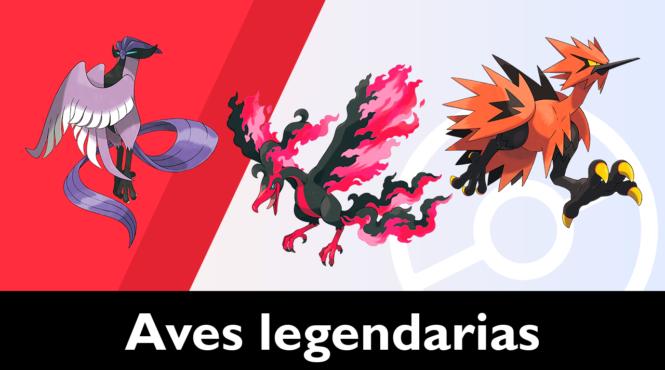 Consiguiendo a las aves legendarias de Las Nieves de la Corona en Pokémon Espada / Escudo