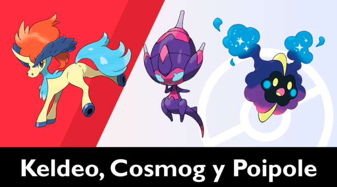 Consiguiendo a Keldeo, Cosmog y Poipole en Las Nieves de la Corona de Pokémon Espada / Escudo