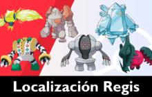 Como conseguir a todos los Regis en Las Nieves de la Corona en Pokémon Espada / Escudo