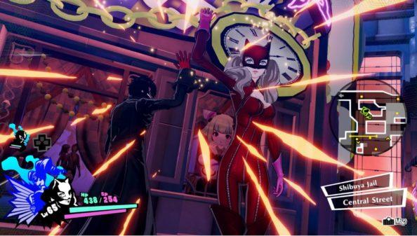 Tráiler de lanzamiento de Persona 5 Strikers